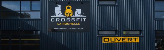 Façade salle CrossFit La Rochelle