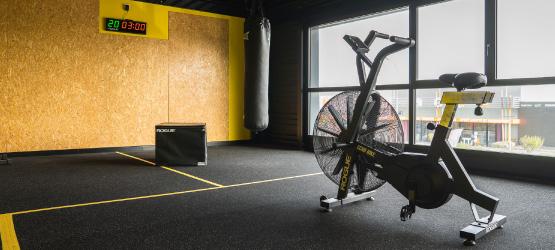Etage de la salle CrossFit La Rochelle