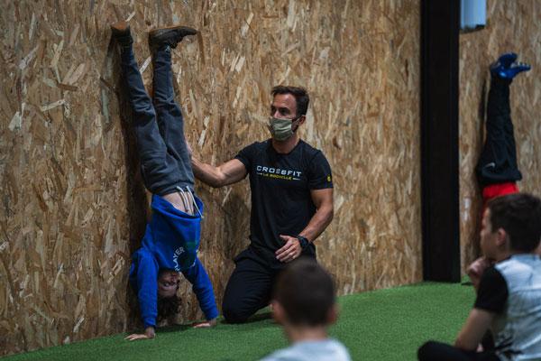 Séance de CrossFit pour enfants à La Rochelle