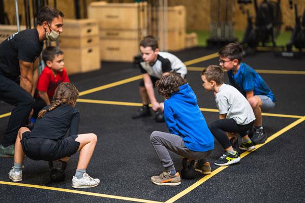 Cours CrossFit pour enfants