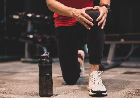 CrossFiteur avec blessures au genou