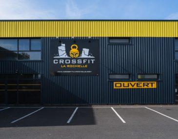 Image salle de crossfit ou salle de sport